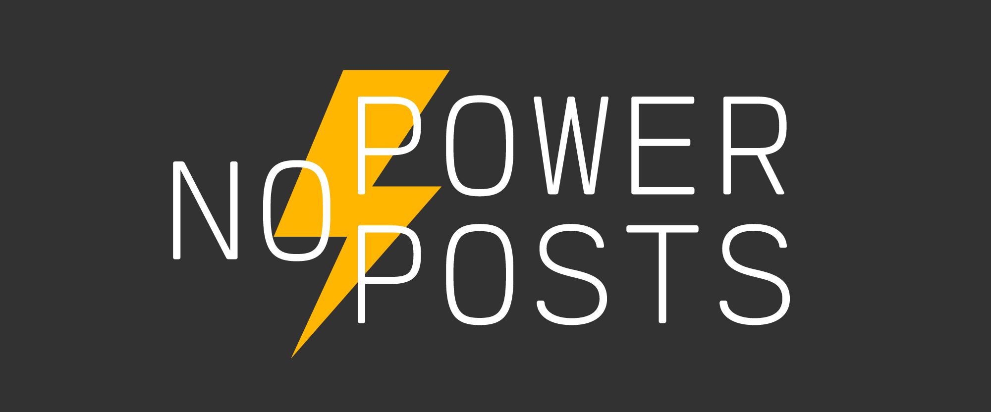 No Posts Until Monday