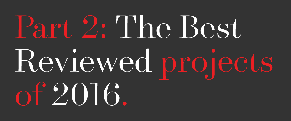 The Best and Worst Identities of 2016, Part 2: The Best Reviewed