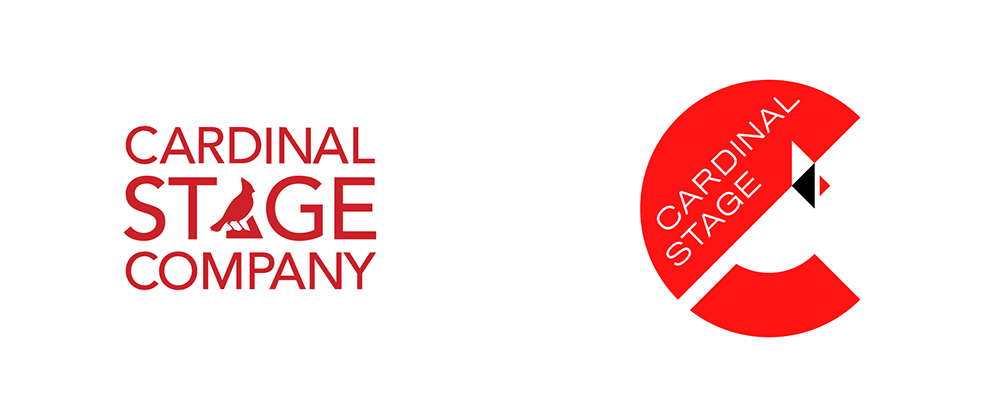 New Logo and Identity for Cardinal Stage by UnderConsideration