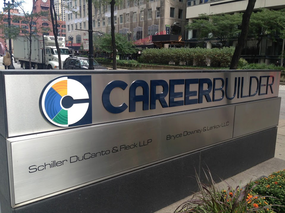 New Logo for CareerBuilder done In-house