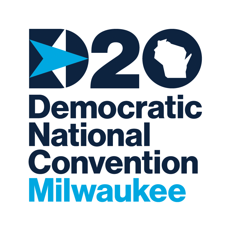 New Logo and Identity for 2020 Democratic National Convention by Zero