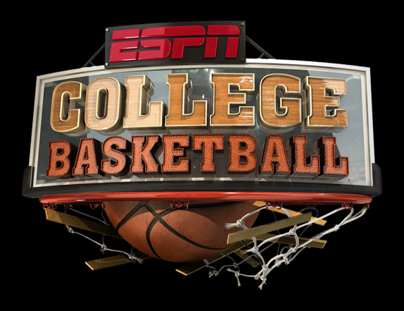 ESPN College Basketball Logo, Before and After
