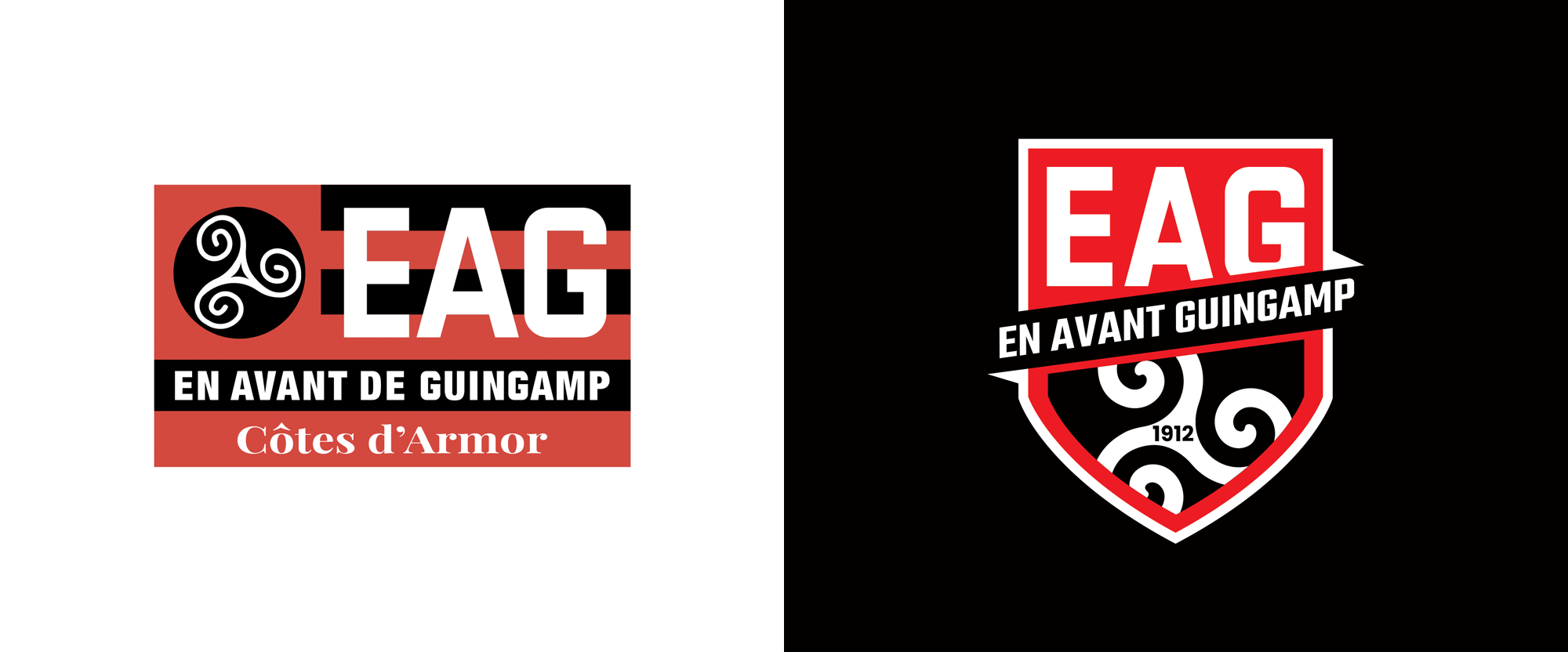 New Logo for En Avant de Guingamp