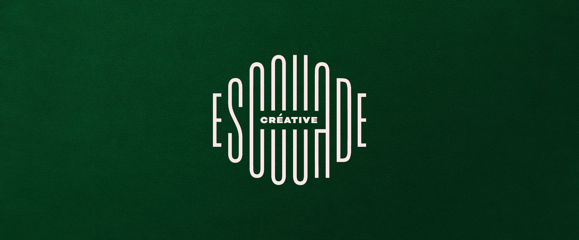 New Logo and Identity for L'escouade Créative by Antoine Goulet