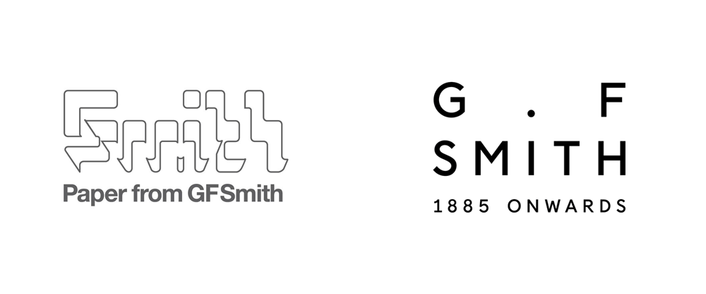 brand new  new logo and identity for g   f smith by made