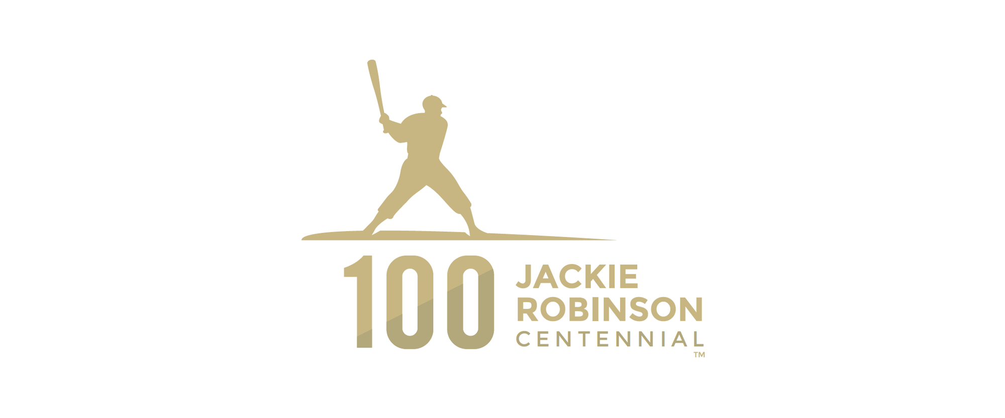 New Logo for Jackie Robinson Centennial by Joe Bosack & Co.