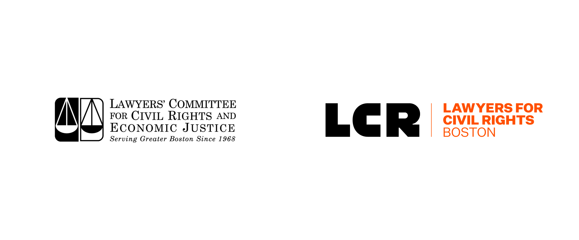 New Logo and Identity for Lawyers for Civil Rights by OverUnder