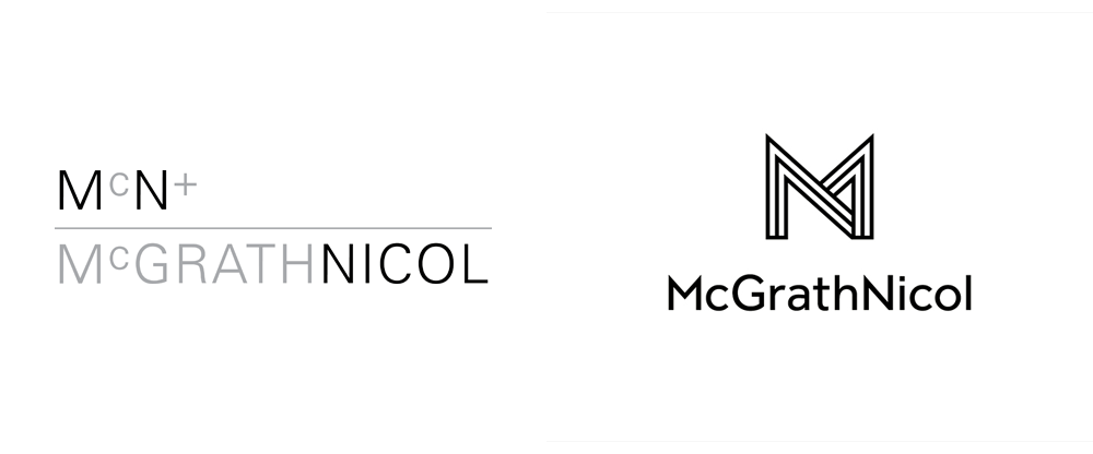 New Logo and Identity for McGrathNicol by Hulsbosch