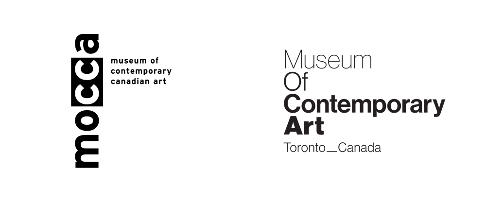 New Name and Logo for Museum of Contemporary Art_Toronto_Canada by Leo Burnett Toronto