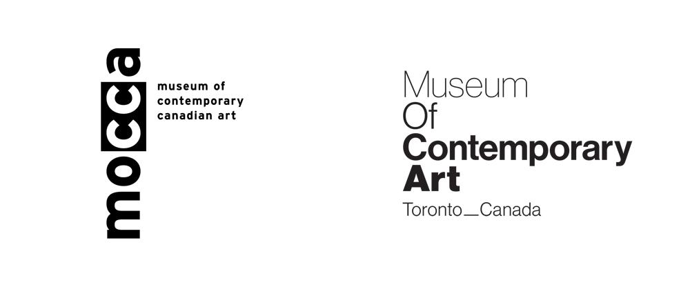 New Name and Logo for Museum of Contemporary Art_Toronto_Canada by Leo Burnett Toronto