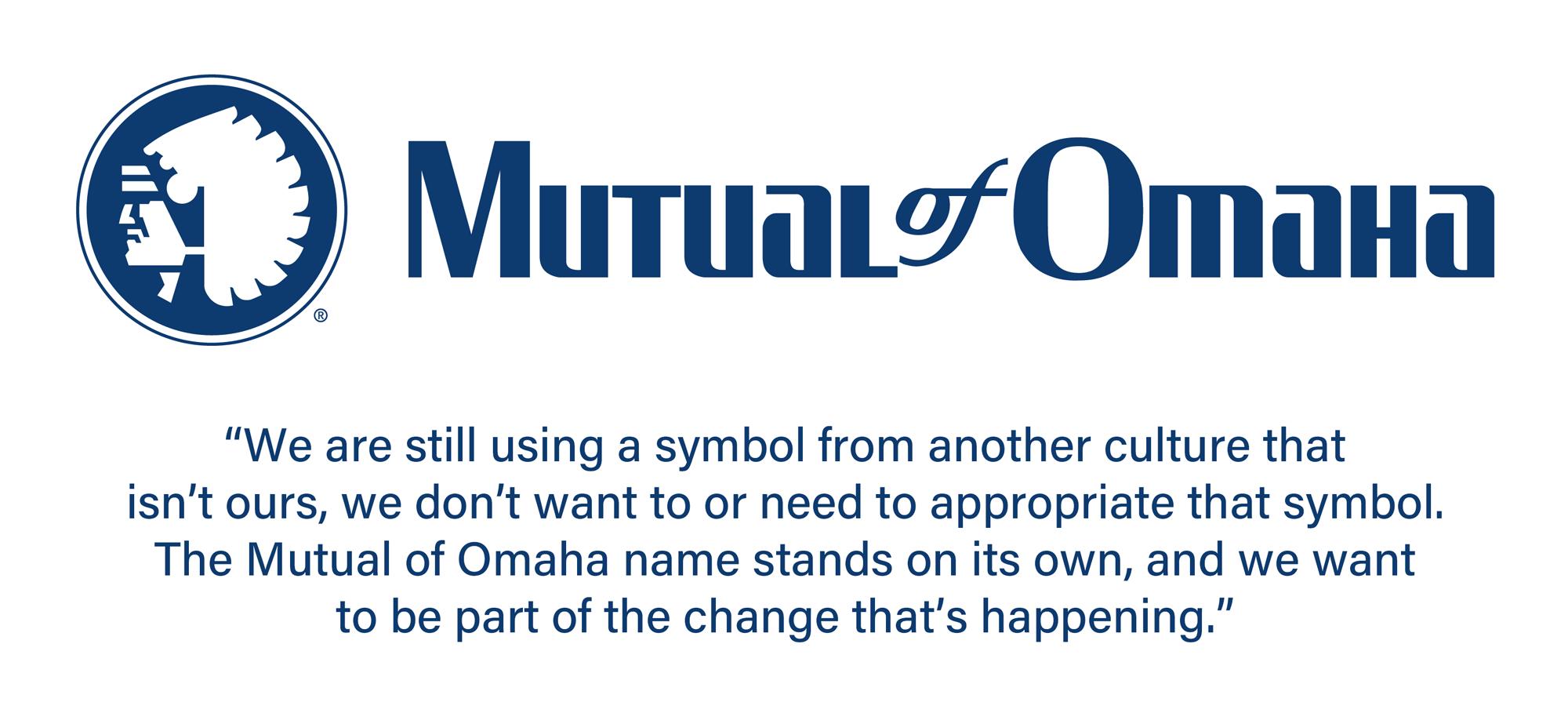 Mutual of Omaha Retires Corporate Logo