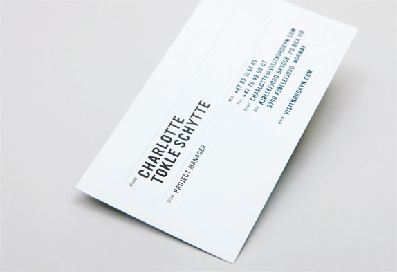 Brand new where the cold wind blows for Architecture student business cards