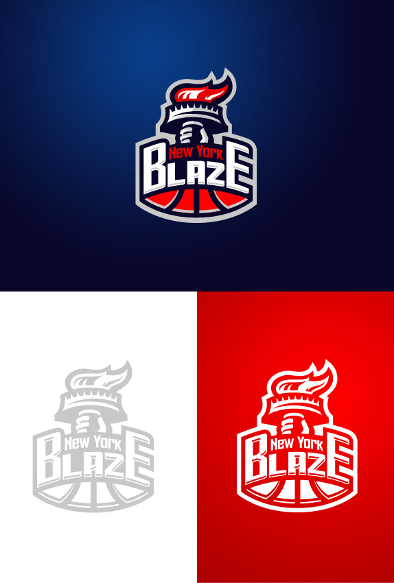 New York Blaze Logo