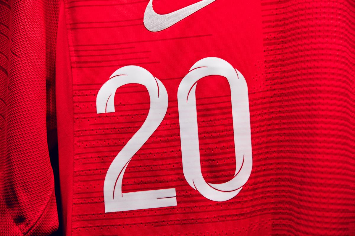 England World Cup Uniform Type