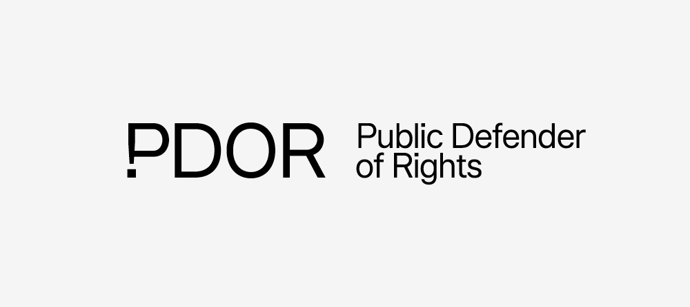 New Logo and Identity for Slovak Public Defender of Rights by Andrej & Andrej