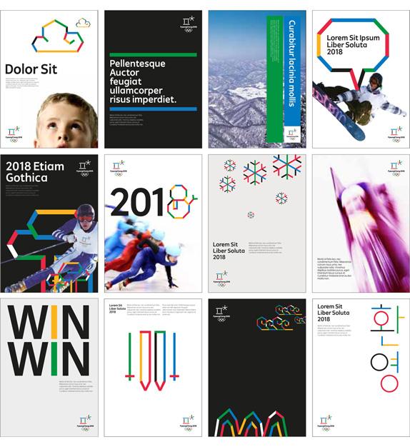 PyeongChang 2018 Olympic games logo vector логотип вектор
