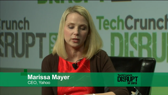 Marissa Mayer Addresses New Logo