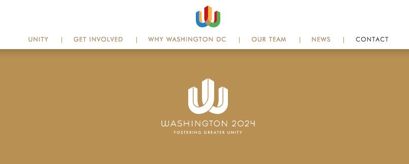 Washington's 2024 Olympic Bid Logo
