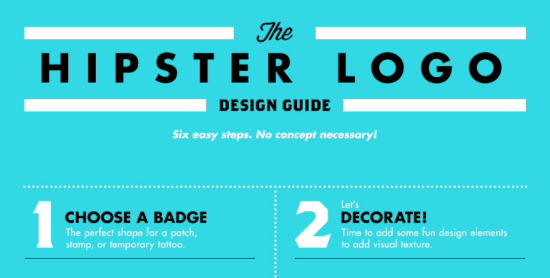 brand new the hipster logo design guide