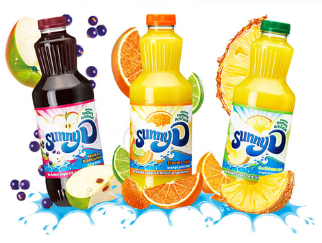 Sunny D Packaging. Thanks to Skylar Challand for the tip.