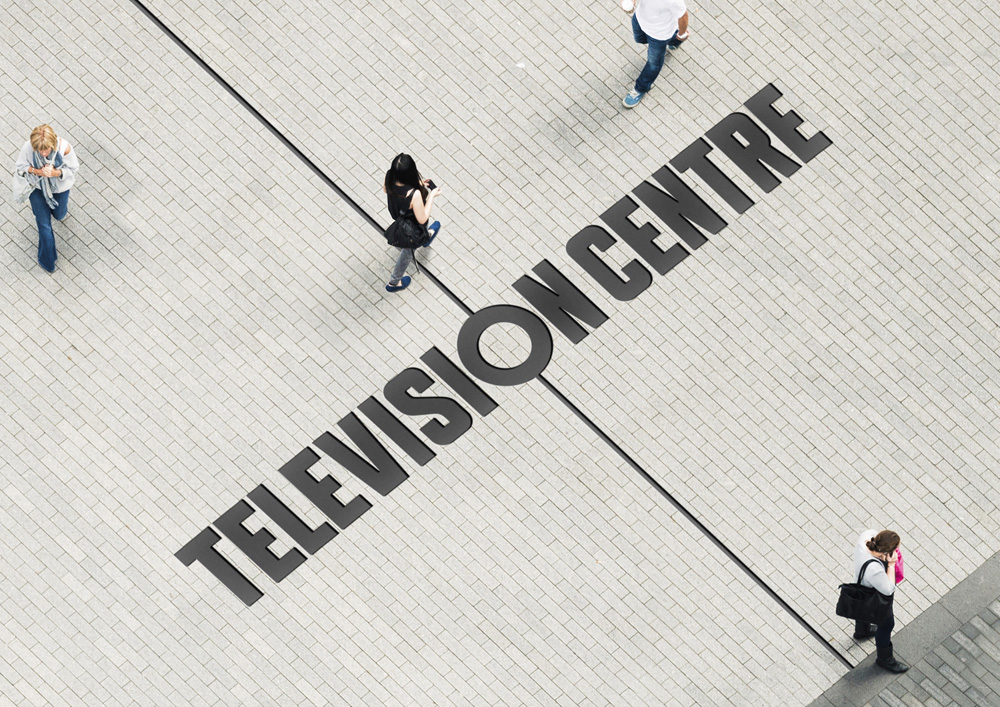 New Logo and Identity for Television Centre by Prophet