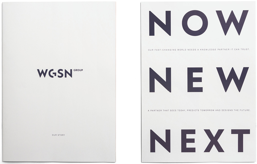New Logo and Identity for WGSN Group by venturethree