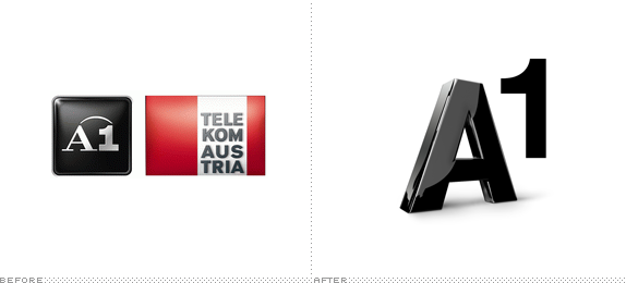 A1 Logo, Before and After