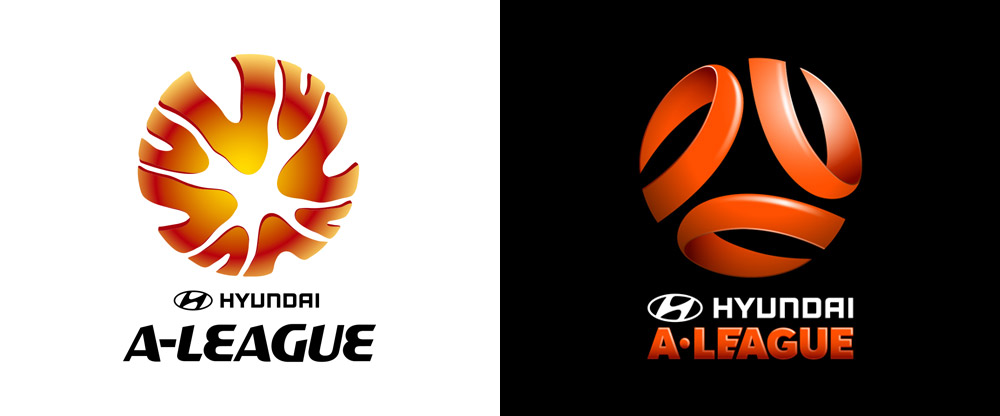 New Logos for the A-League, W-League, and Y-League by Hulsbosch