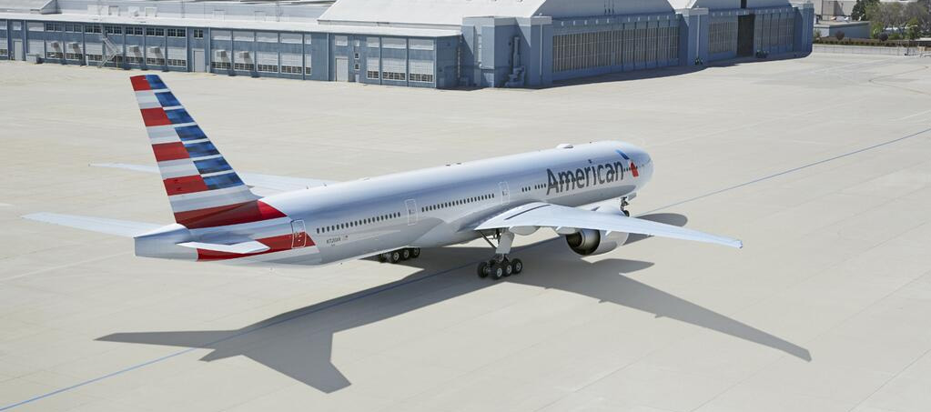 American Airlines Livery Result