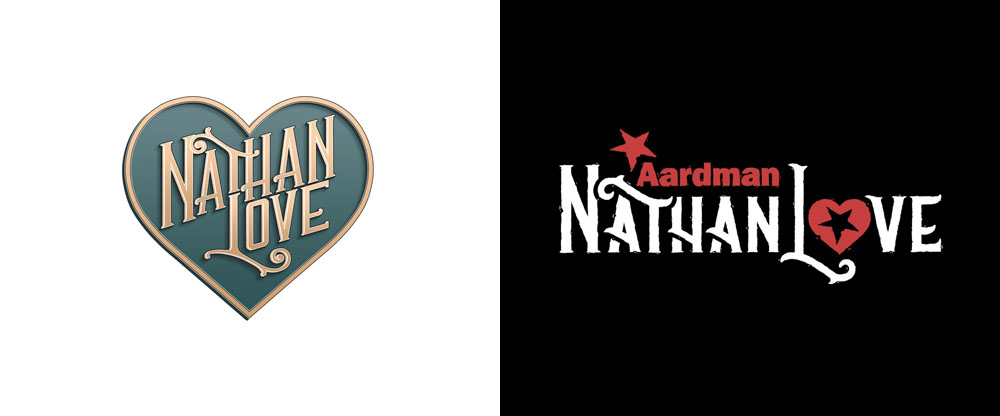New Name, Logo, and Identity for Aardman Nathan Love done In-house