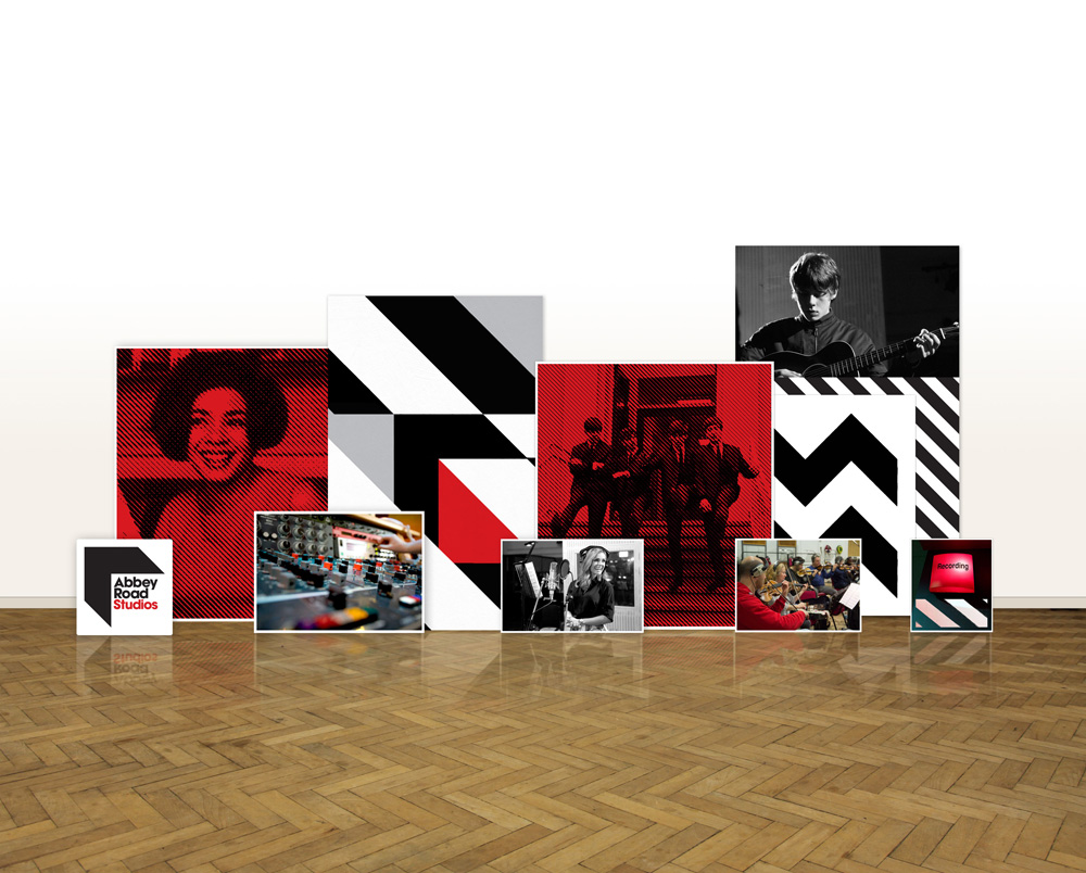 New Logo and Identity for Abbey Road Studios by Form