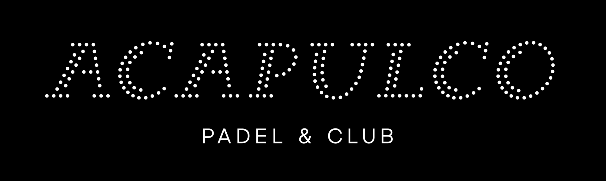 New Logo and Identity for Acapulco Padel & Club by Bedow