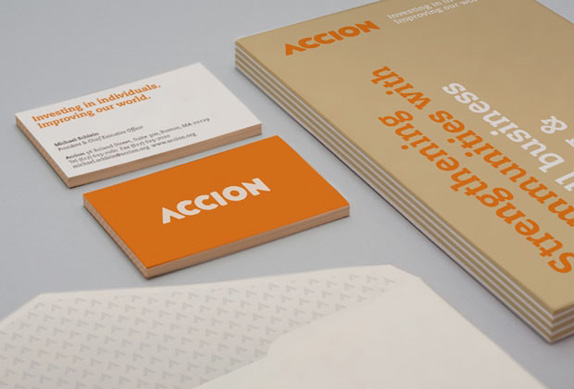 Accion Logo and Identity