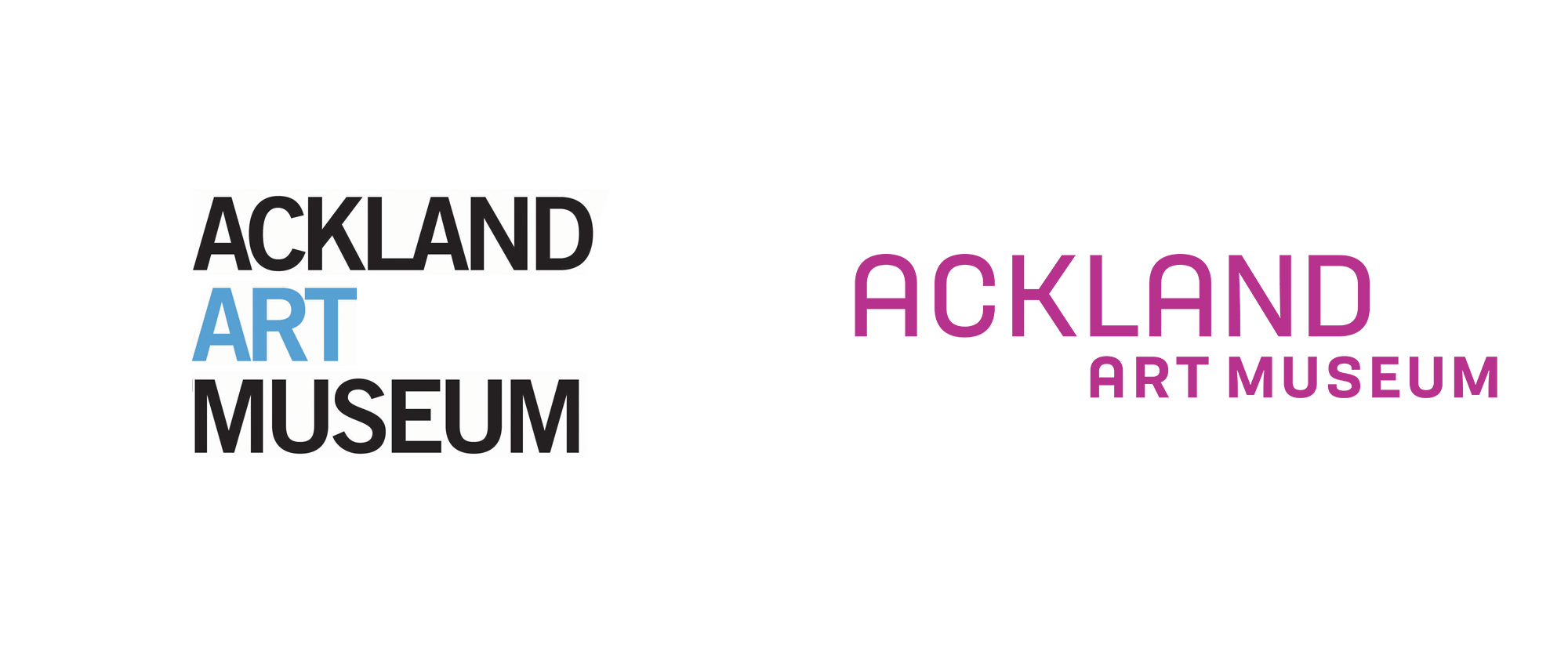 New Logo and Identity for Ackland Art Museum by Minelli