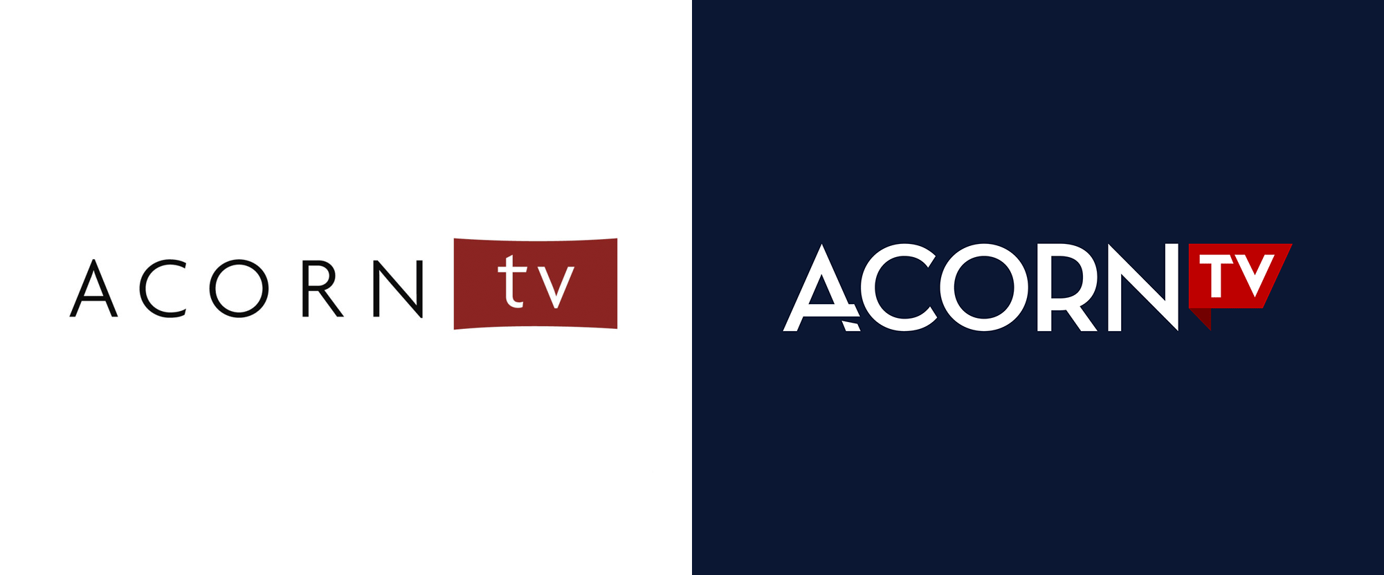 New Logo for Acorn TV by Trollbäck+Company
