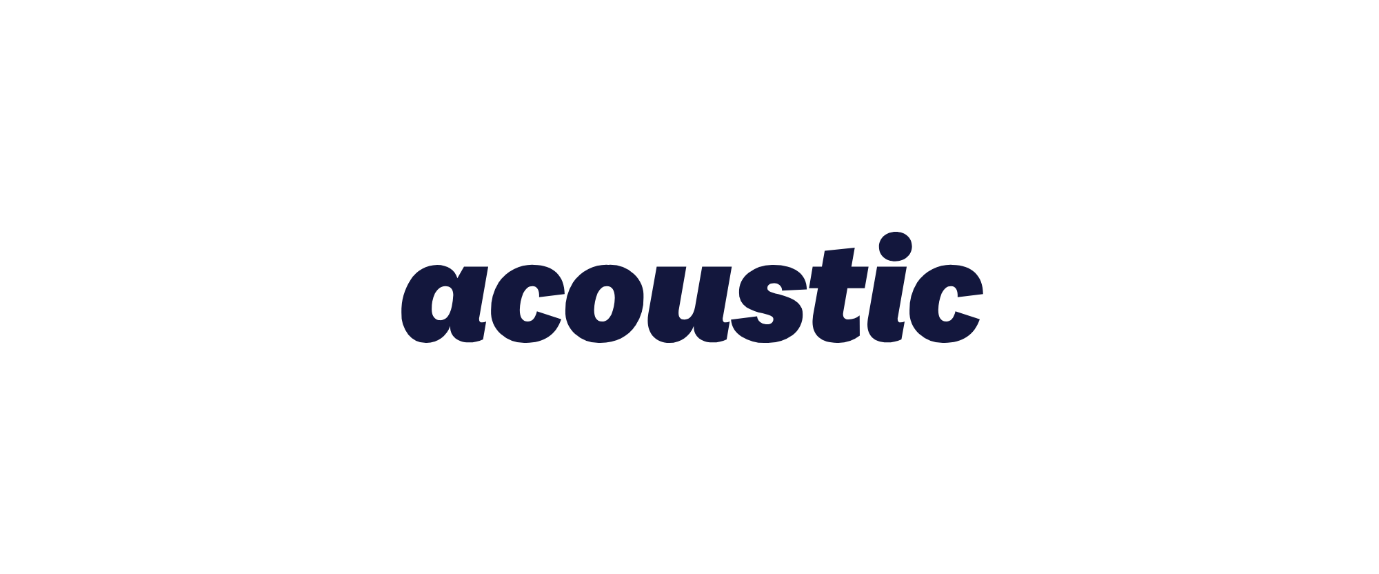 New Name and Logo for Acoustic