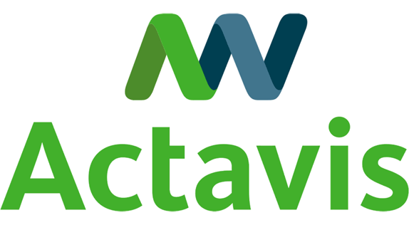 Actavis Logo, Before and After