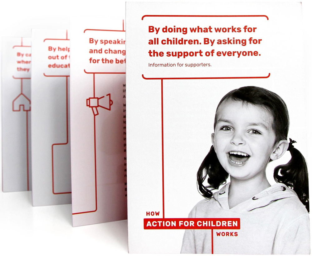 New Logo and Identity for Action for Children by Johnson Banks