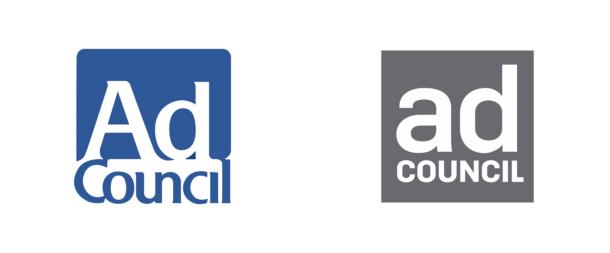 New Logo for Ad Council by Superunion
