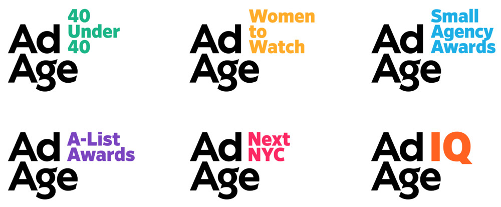 New Logo and Identity for AdAge by OCD