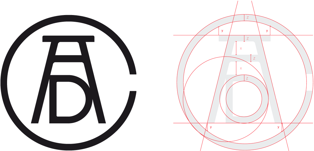 New Logo and Identity for ADC by Sid Lee