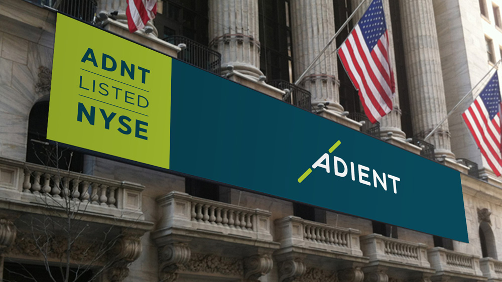 New Name, Logo, and Identity for Adient by Futurebrand