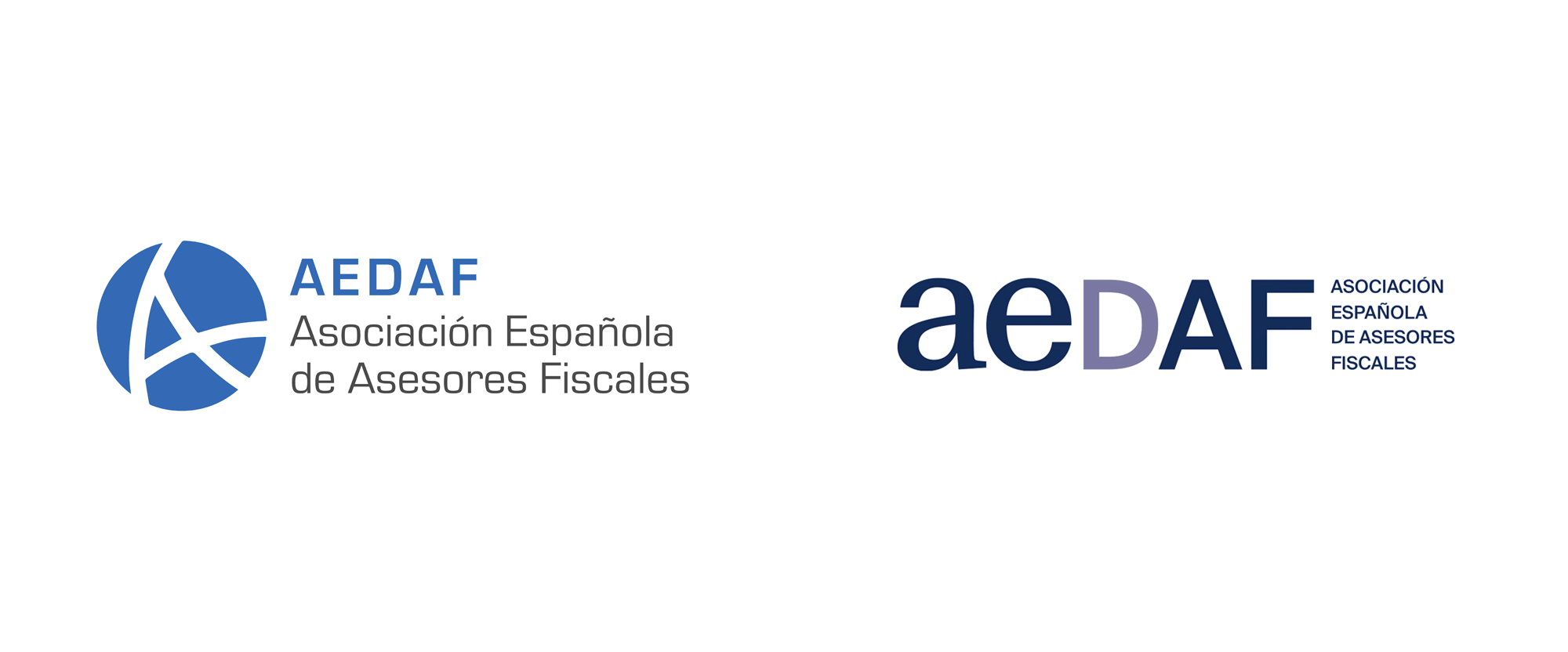 New Logo and Identity for AEDAF by Nueve