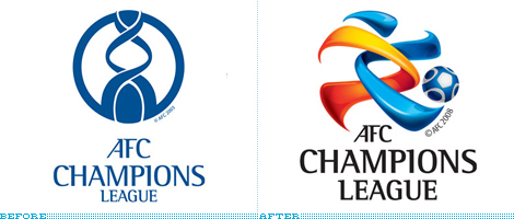 AFC Logo, Before and After