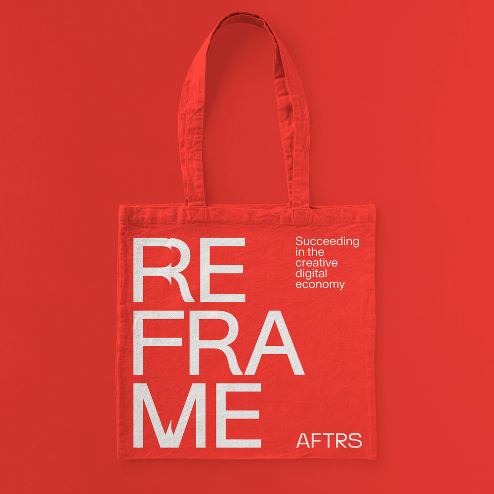 New Logo and Identity for AFTRS by M35