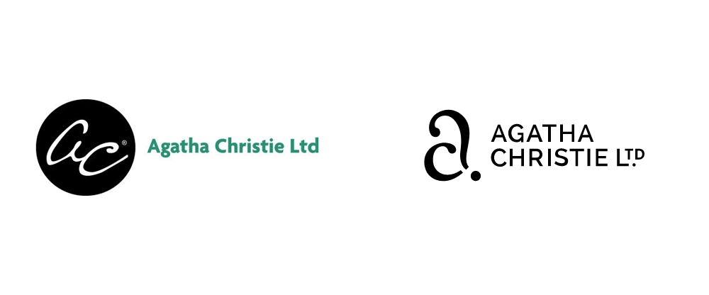 New Logo and Identity for Agatha Christie Ltd by Studio Sutherl&