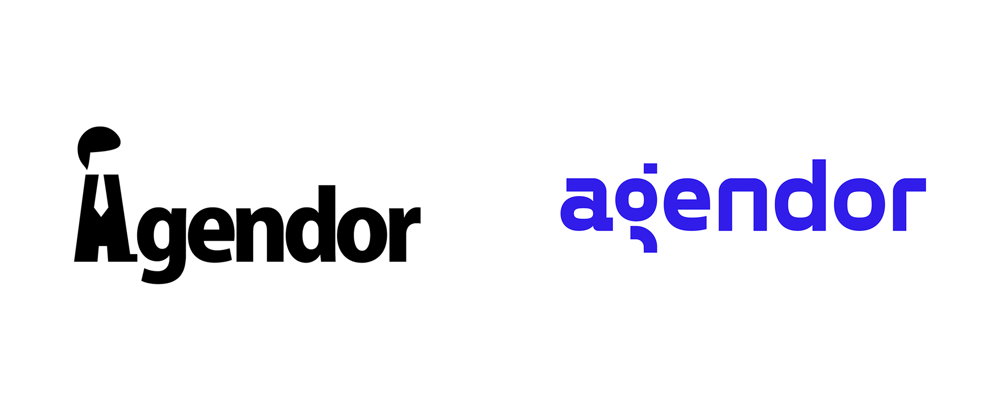 New Logo and Identity for Agendor by Updott
