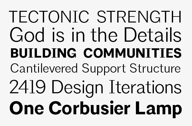 New Institutional Type for American Institute of Architects by Pentagram