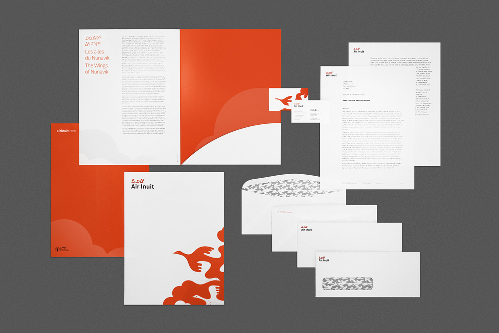 New Logo, Identity, and Livery for Air Inuit by FEED