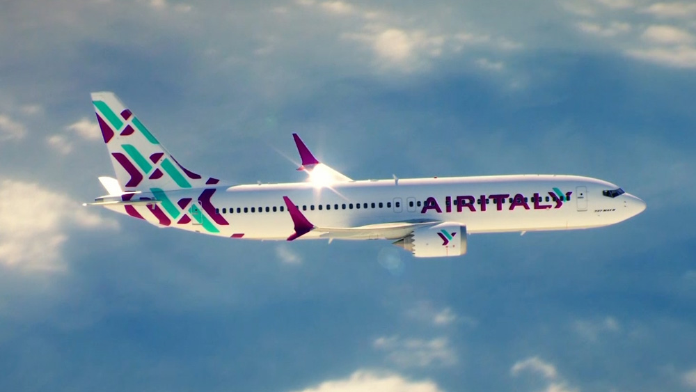 New Logo and Livery for Air Italy